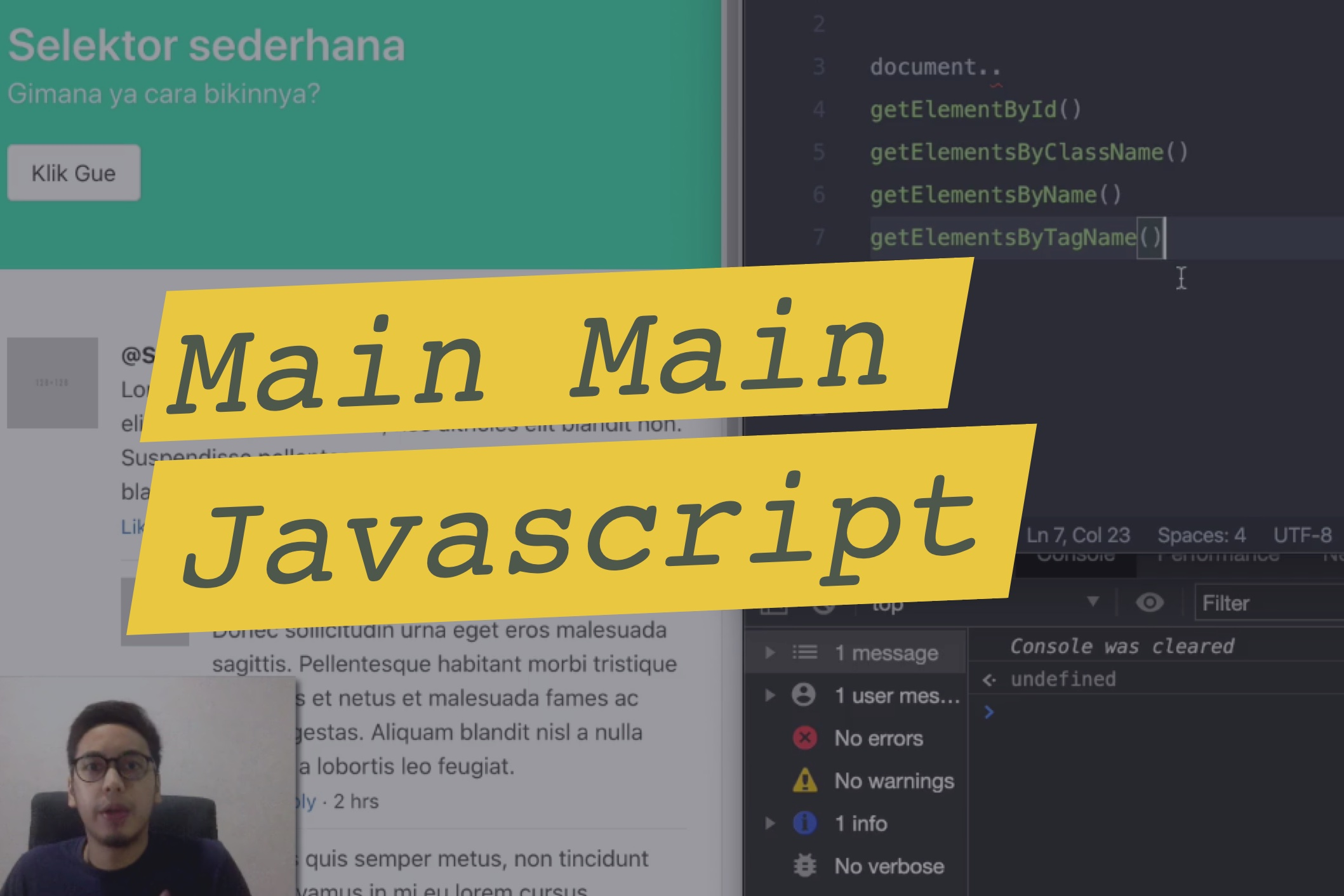 cover Bermain dengan Javascript